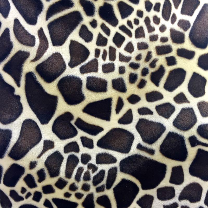 715 Velboa Animal Prints With S Wave Fabric Base Inc